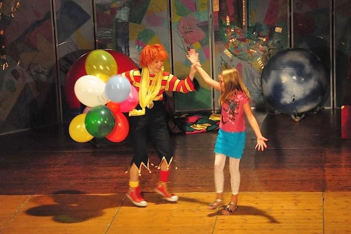 Clown Antoschka Applaus Schauspielschule