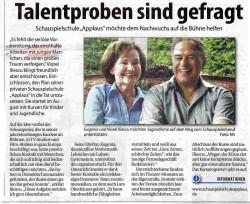 RheinischerBote - Talentproben sind gefragt