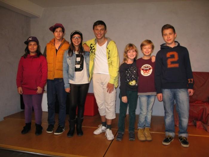 Schauspiel Workshop Herbstferien Applaus Schauspielschule